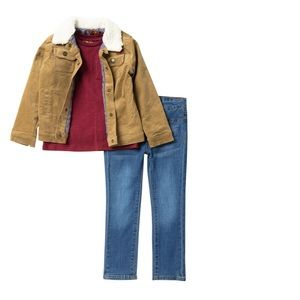 7 for All Mankind Boy set of 3 - size 4T